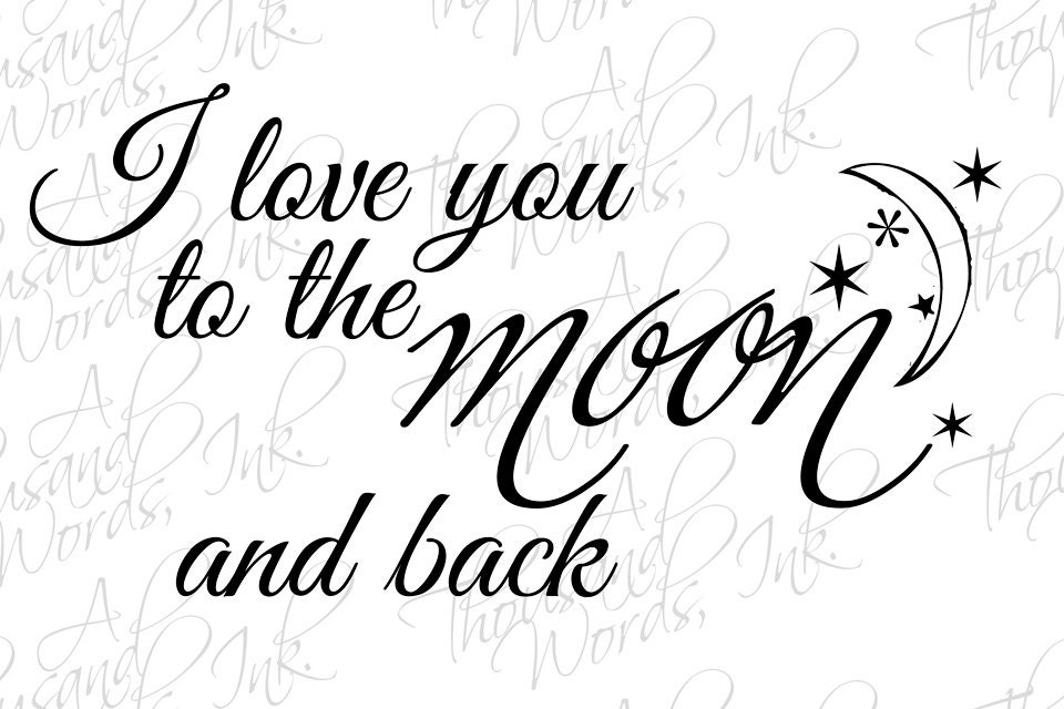 Digital Clipart Quote Png File Photo Overlay Stamp I Love You Word Art Photoshop S Book From Alittleofthis On Etsy Studio