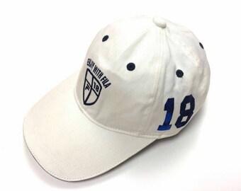 Vintage FILA Cap Hats Big Logo Embroidered Casual Fashion
