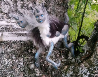 Twin OOAK Fantasy Art Doll