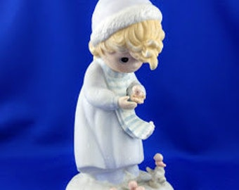 Winter's Song Precious Moments Figurine