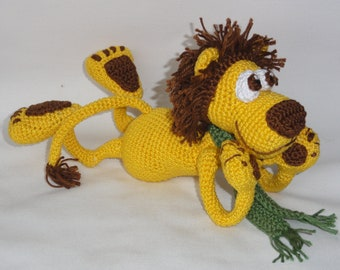 Amigurumi Crochet Pattern - Leon the Lion - English Version