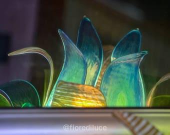 """Lotus Flower Lamp """"Silent Lagoon"""" / Free Shipping"""