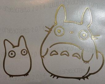 Various Totoro Vinyl Decals