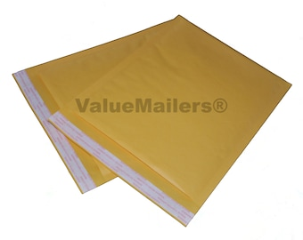 100 0 6x10 ValueMailers Kraft Bubble Mailers