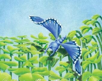 Flying, Nile in Denial Art Print 10x10