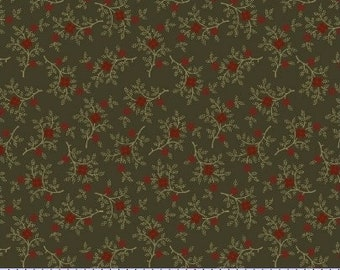 8208 0114 / Marcus Brothers / Pieceful Pines / Fabric / Pam Buda / Green