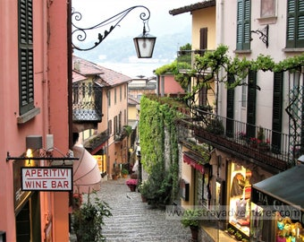 Bellagio, Italy on Lake Como jpg Digital Download