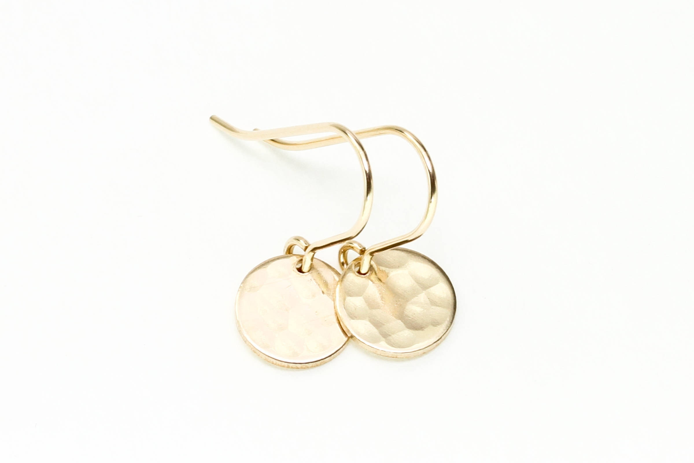 small circle open earrings gold treasure delicate products box for my a
