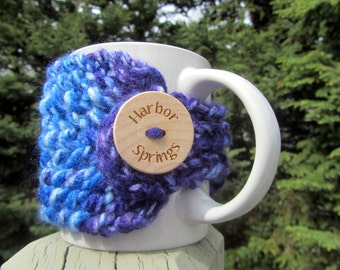 Harbor Springs Coffee Cup Cozy - Perfect for Gift Giving or Keeping and Environmentally Friendly
