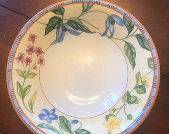 Rare Johnson Brothers Spring Medley Soup Bowl