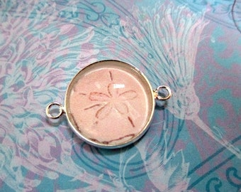 White Sand Dollar Bracelet - Interchangeable Bracelet