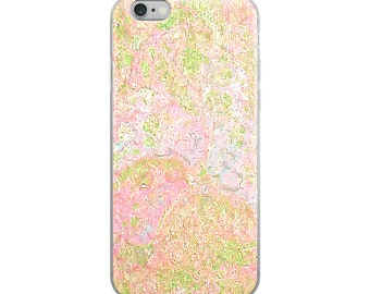 iPhone Case Pink Marble