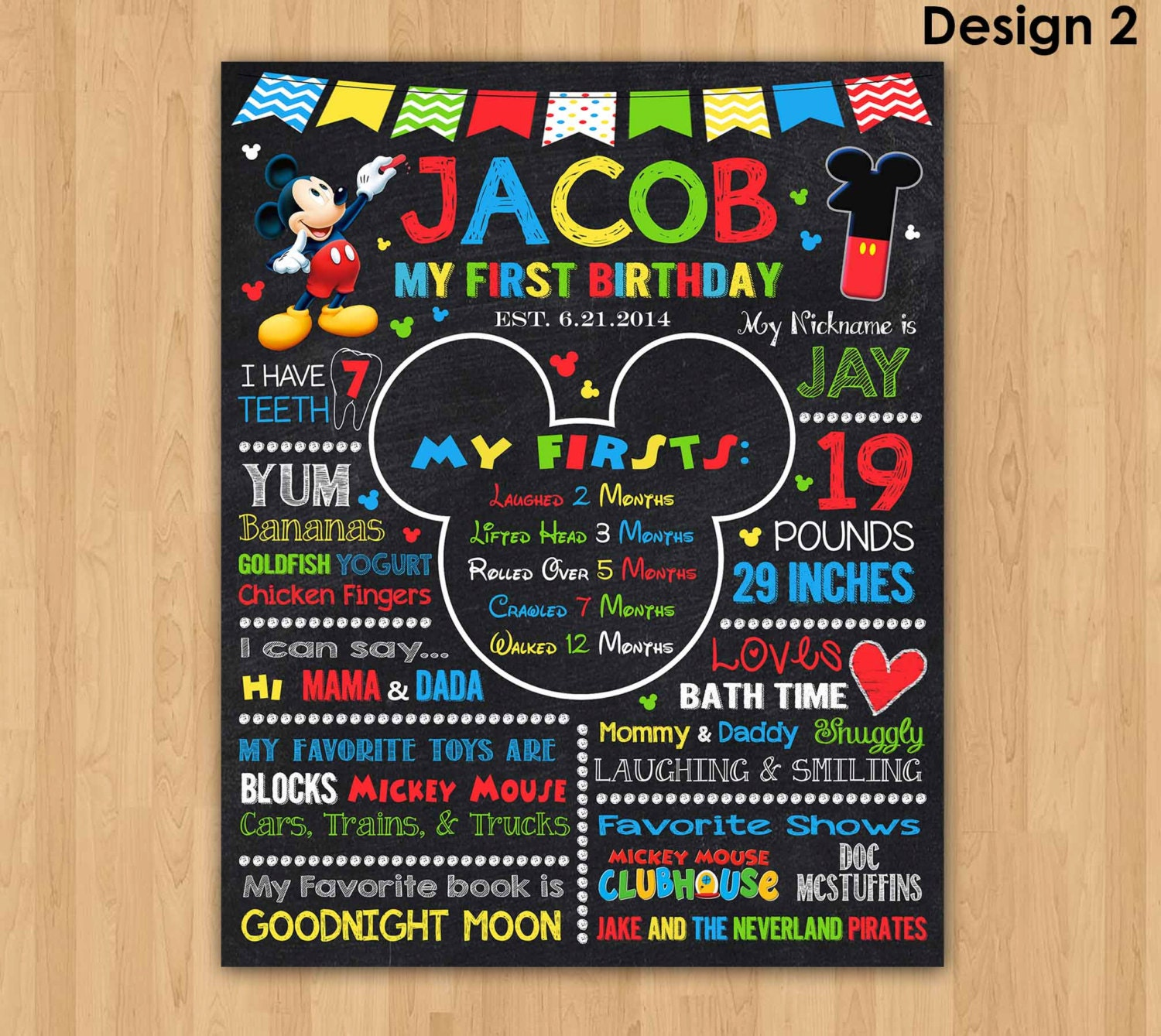 mickey mouse chalkboard poster first birthday wallpaper bathroom signs of cup dispenser desktop full hd pics il fullxfull