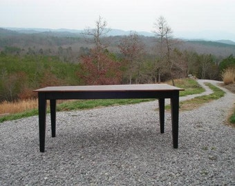 Black Dining Tables, Rustic Kitchen Tables, Solid Wood Tables, Farmhouse Table