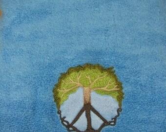 Peace Tree Bath Towel - EXTRA STOCK