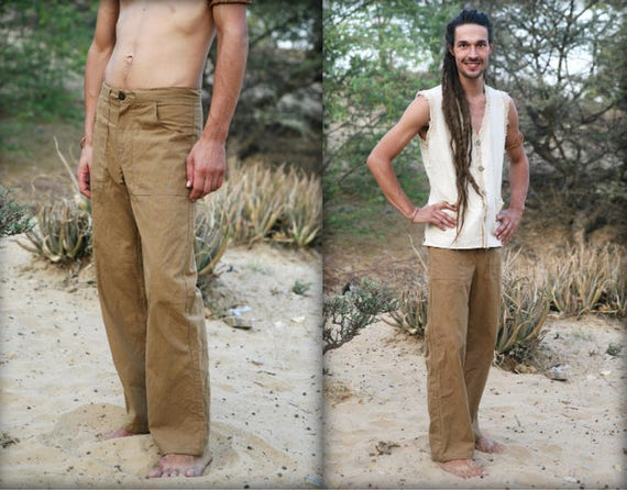 Straight Pants Men ~ Brown Camel qO5qrcgvnd