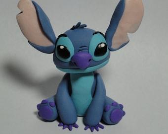 Stitch Clay Figurine