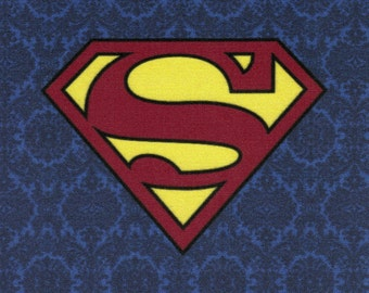 DISCONTINUED Superman Logo fabric print