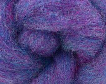 Parma Violet - Corriedale Wool -  Needle Felting - Spinning - Wet Felting - Nuno Felting - Wet Felting