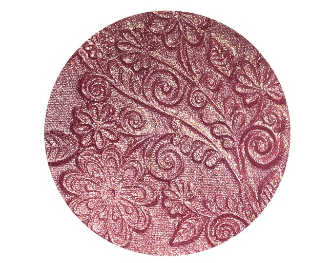 SWEET ANGELIQUE- Pressed Highlighter / Blush / Eyeshadow- duochrome pink with a gold shift