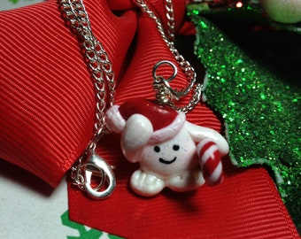 Doctor Who Adipose Necklace -Holiday Edition-