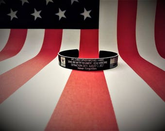 SPC Christopher Michael Harris Memorial Bracelet