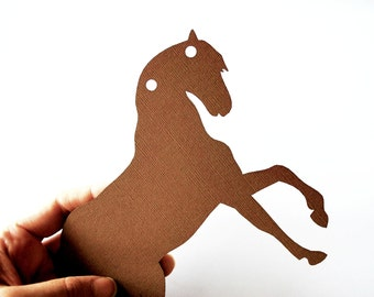 8 Horse Die Cut, Horse Die cuts,  5  inches wide horse  , Horse Animal Die Cuts A613