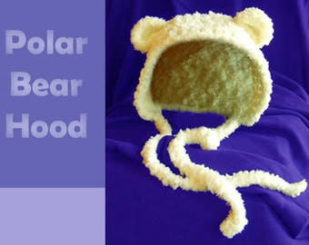 Polar Bear Hood