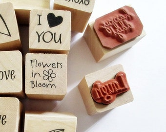 Mini Rubber Stamps STR353