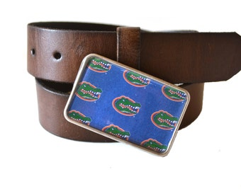 University of Florida Belt Buckle  Gators  College Buckle