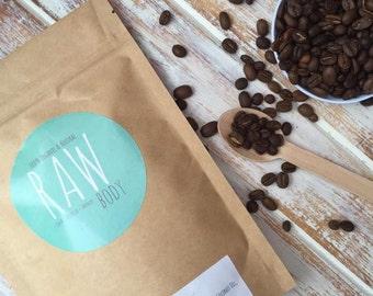 Cacao RAW Organic Coffee Scrub