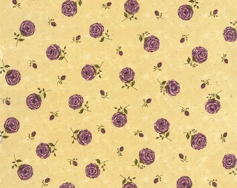 Moda Fabric PRINTS CHARMING by Sandy Gervais Border Berry 17840-11