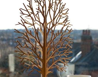 Lasercut Wooden Tabletop Tree #3