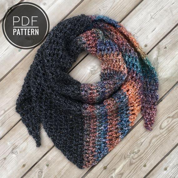 Crochet Scarf Pattern Scarf Pattern Beginner Crochet Pattern Diy