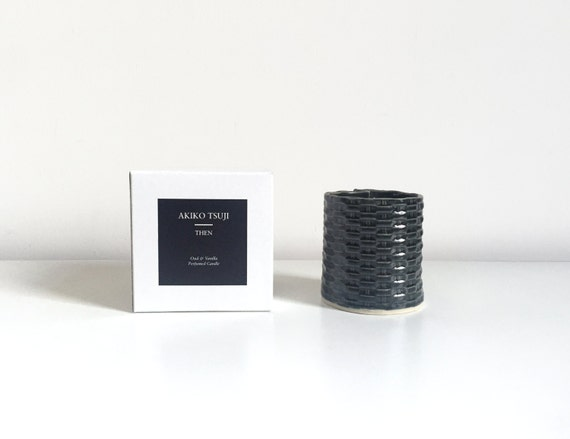 THEN Oud & Vanilla Candle by Akiko Tsuji