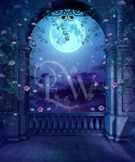 digital fantasy background for Photoshop photo composit editing