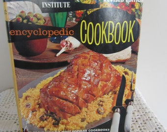 Vintage Culinary Arts Institute Encyclopedic Cookbook  1974 Edition