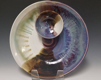 Handmade Chip and Dip Platter #1036