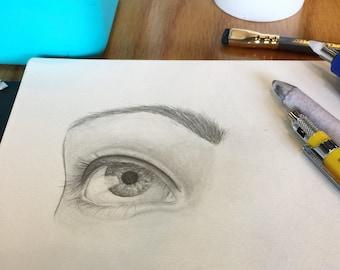 Lover's Eye Custom Drawing