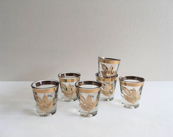 Mid Century Shot Glasses.