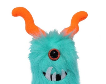 Stuffed monster, stuffed animal, plush, plushie, monster plush, monster