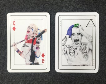 Joker and Harley Quinn Playing Cards
