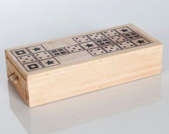 Royal Game of Ur - Ancient Board Game - Handmade and Silkscreened