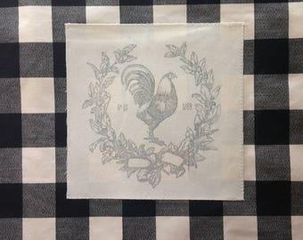 Chicken Buffalo Check Pillow Cover