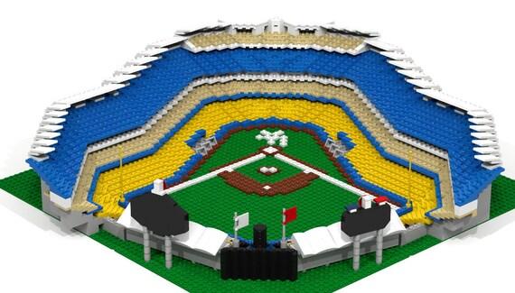 LA Dodger Stadium 2500 pieces Brick Model