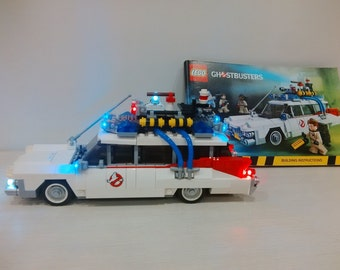 Light up kits for 21108 Ghostbusters Ecto-1 - (Car not included)