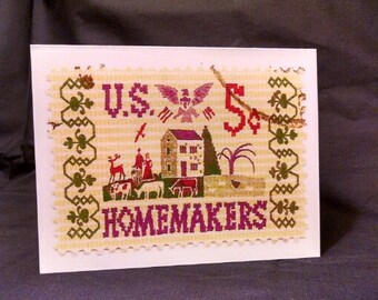 Homemakers Set of 10 Note Cards
