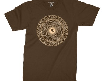 Om- T-shirt ~ sacred geometry clothing ~ Sanskrit - sacred sound  ~ mantra
