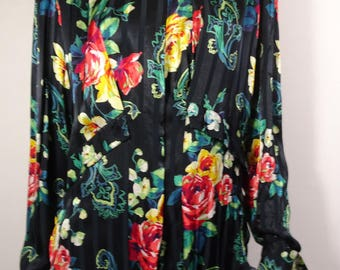 Flower Printed blouse Size 36