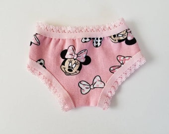 Minnie Mouse Doll Underwear for American Girl Dolls by The Glam Doll
